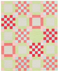 Broken Chain quilt by Victoria Eapen