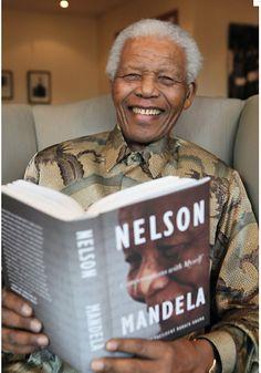 Nelson Mandela reads Nelson Mandela.