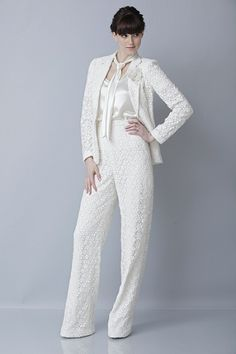 Bridal Pant Suit http://www.imaginethatwedding.com/wedding-blog/channel-celebrity-katherine-hepburn