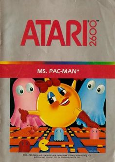I just need Pac-Man Jr. then I will have all three Pac-Man games to the Atari 2600.