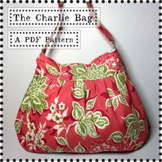 Charlie bag sewing pattern