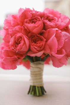 Peony Perfection!!! Pink Wedding Bouquet