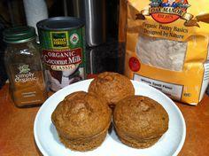 Recipe - Carrot Cake Spelt Muffins