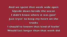 "Luke Bryan ""Roller Coaster"" - Lyrics"