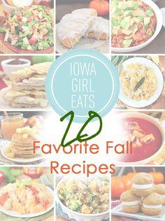 20 Favorite Fall Recipes
