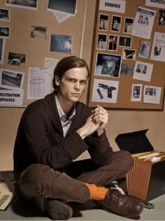 Spencer Reid!  Criminal Minds is like a taco.  They add more cheese and I just like it that much more.