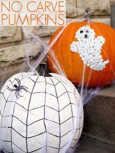 No carve pumpkin decorating - C.R.A.F.T.