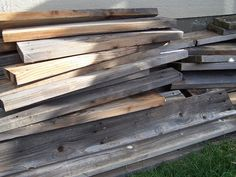 Beyond The Picket Fence: SO many ideas to do with old wood!