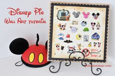 Disney Pin Wall Art Display