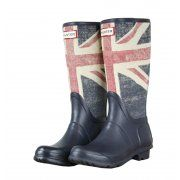 Support Great Britain in these original kids Union Jack Hunter Boots at www.hypedirect.com