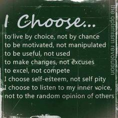 I choose...Still.
