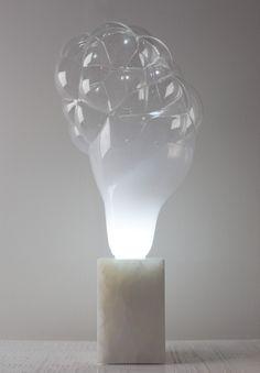 Bubble lamp by Mathieu Lehanneur