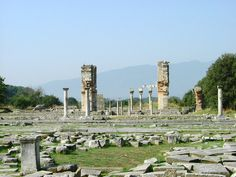 Greek ruins in Macedonia