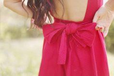 pretty bow
