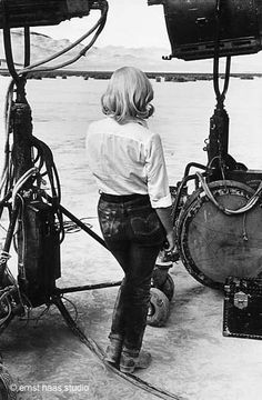 """Marilyn Monroe on the set of """"The Misfits"""" 1962 by Ernst Haas"""
