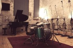 Music studio.