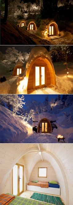 Eco Pod Hotel / Switzerland