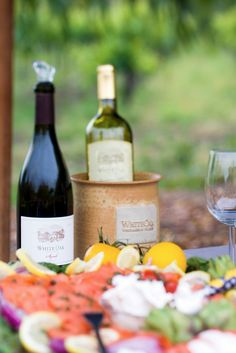 Vino and a fresh picnic in California Wine Country