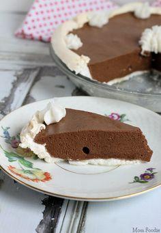 Chocolate Angel Pie | #glutenfree #dairyfree