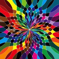 Rainbow art - swirling rainbow color wheel art, color wheel, colour stuff, graphics, mwm graphic, colour wheel, matt, rainbow, funk graphic