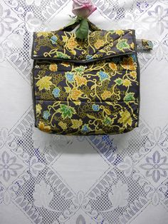 Vine print  computer bag ON SALE from 25.00 by MennehsHouse, $16.00