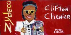 Clifton Chenier by Lamar Sorrento.