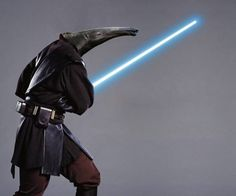 Jedi Anteater from animalswithlightsabers #Star_Wars #Anteater