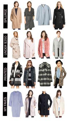Fall Coat Shopping Guide