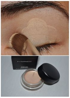 To get a much more professional eyeshadow look, use Mac paint pot in Soft Ochre underneath. Brush a coat of it on OVER your eyeshadow primer, before you start applying color.