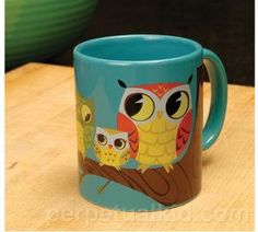AWESOME OWL MUG