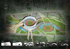 2014 Incheon Asian Games Main Stadium / Populous