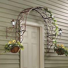Over The Door Arch Trellis