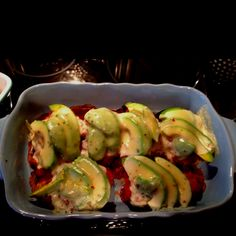 Baked Chicken Breasts Stuffed with Sage-Pecan Pesto and Feta | Recipe