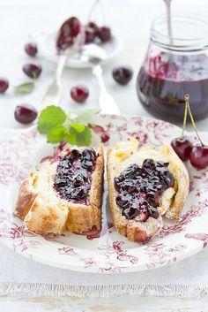 cherry jam...