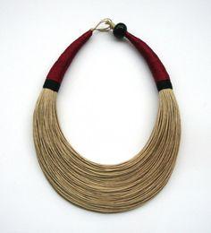 Minimalist DIY Chevron Wire Necklace Minimalist DIY Chevron Wire Necklace new photo
