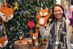 Pashom chief designer, Lisa, gets playful at Kids Instyle Melbourne 2014.