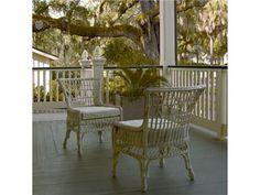 Paula Deen by Universal Outdoor/Patio Wicker Chair 197637 - Barrs Furniture - McMinnville, TN