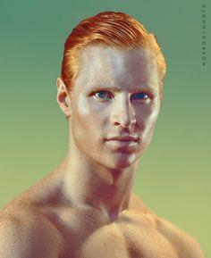 Model Rob Cattanach #redheads