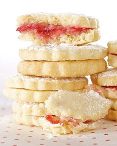 Lemon-Raspberry Sandwiches Recipe