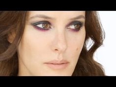 Lisa Eldridge - Easy Dramatic Smoky Eye With Colour Technique Make-Up Look. For more tips and a list of products visit http://www.lisaeldridge.com/video/25327/easy-dramatic-smoky-eye-with-colour-technique/ #Makeup #Beauty #Tutorial