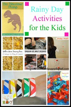Frogs and Snails and Puppy Dog Tail (FSPDT): Rainy Day Activities for the Kids {kids co-op 2-13}
