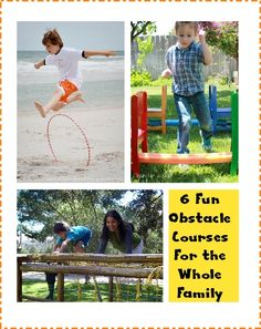 Summer Fun: 6 Obstacle Course Ideas for Kids & the Whole Family