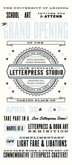 Letterpress Studio | Cast Iron Design Company