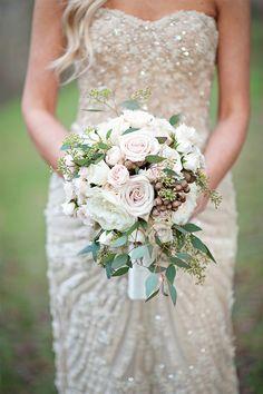 wedding bouquet - Kristen Weaver Photography