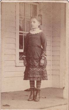 1883 CDV of a girl identified as 10 year old Clara A. Smith, daughter  of Lorin and L. Smith of New York.. Post mortem
