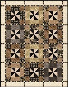 Pinwheel Plaid Pattern