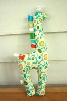 Taggy giraffe.