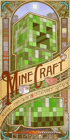 Minecraft poster | For decor