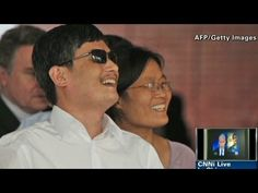 Blind Chinese activist Chen Guangcheng in Exclusive CNN Interview (May 24, 2012)