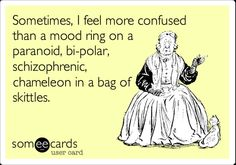 bi polar humor, feeling confused, ahahahahaha, funni, sometimes i feel more confused, biology, bags, true stories, algebra
